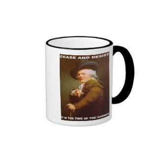 Cease And Desist Coffee Mugs