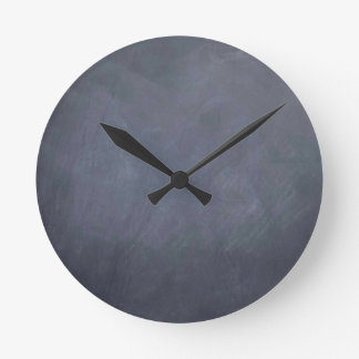 Ceate own Slate Chalkboard accessories - customize Round Clock