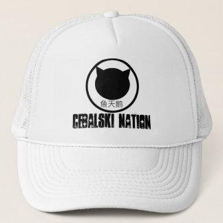 Cebalski merch hat! trucker hat