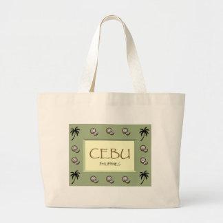 CEBU Philippines Jumbo Tote Bag