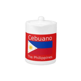 Cebuano Language And Philippines Flag