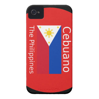Cebuano Language And Philippines Flag iPhone 4 Covers