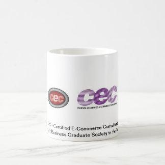 CEC Certified E-Commerce Consultant Basic White Mug