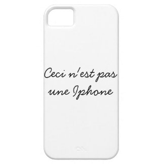 Ceci n est pas une Iphone iPhone 5 Cases