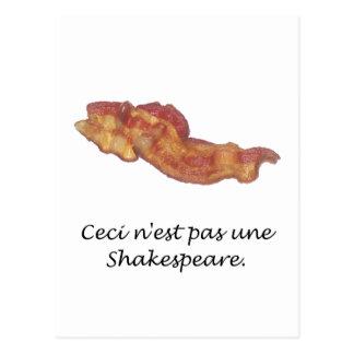 Ceci n'est pas une Shakespeare Postcard