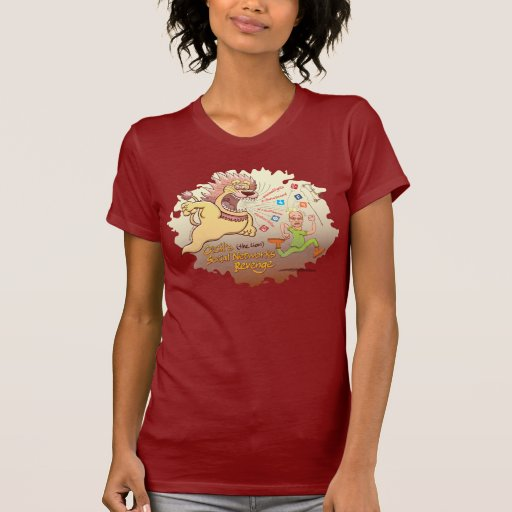 Cecil the lion 39 s social networks revenge tee shirt zazzle for Bc lions t shirts