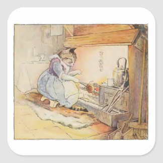 Cecily Parsley's Nursery Rhymes by Beatrix Potter Square Sticker