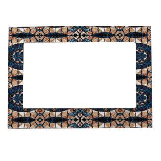 Cecina Mosaic Floor Symmetry Frame Magnet