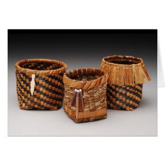 Cedar Bark Baskets #2 Card