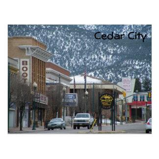 Cedar City Postcard