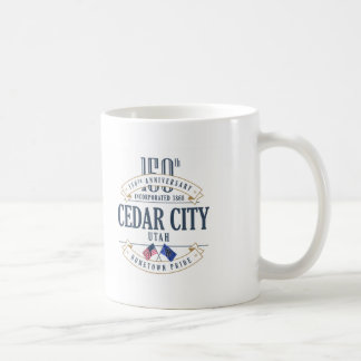 Cedar City, Utah 150th Anniversary Mug