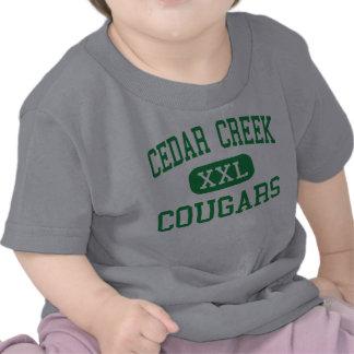 Cedar Creek - Cougars - High - Ruston Louisiana Tshirts