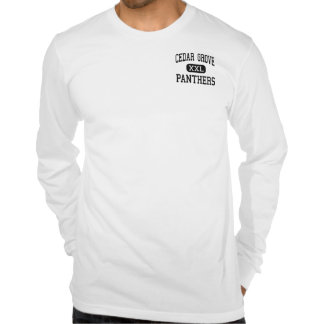 Cedar Grove - Panthers - High - Cedar Grove T-shirts