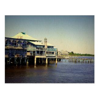 Cedar Key Marina Postcard