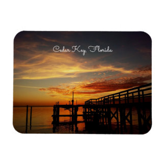Cedar Key Sunset Magnet