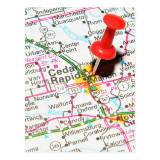 Cedar Rapids, Iowa Postcard
