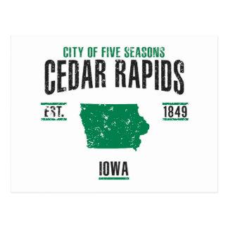 Cedar Rapids Postcard