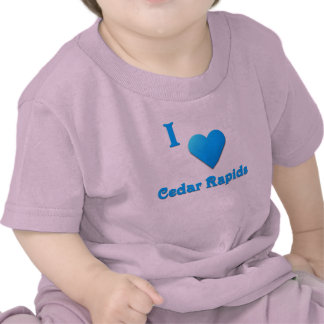 Cedar Rapids -- Sky Blue Tshirt