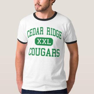 Cedar Ridge - Cougars - High - Old Bridge Shirts
