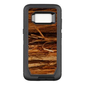 Cedar Textured Wooden Bark Look OtterBox Defender Samsung Galaxy S8 Case