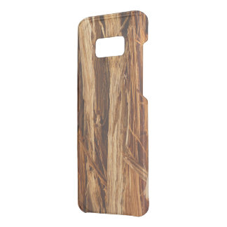 Cedar Textured Wooden Bark Look Uncommon Samsung Galaxy S8 Plus Case