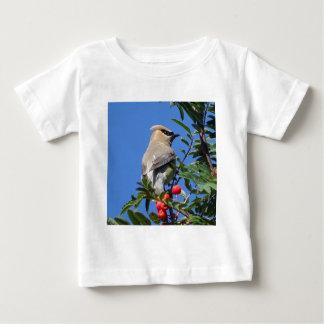 Cedar Waxwing Baby T-Shirt