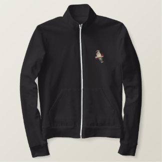 Cedar Waxwing Embroidered Jacket