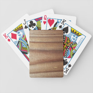 Cedar Wood Bicycle Playing Cards