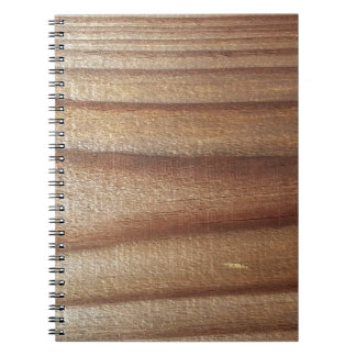 Cedar Wood Notebook