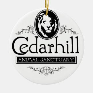 Cedarhill Lion Ceramic Ornament