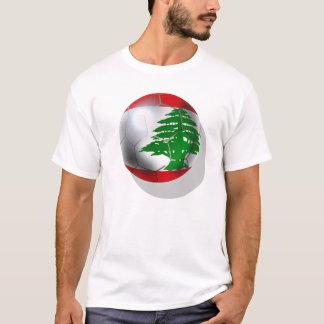 Cedars Lebanon soccer football team flag ball T-Shirt