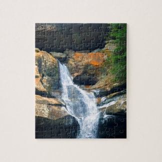 Ceder Falls, Hocking Hills Ohio Jigsaw Puzzle
