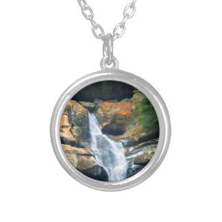 Ceder Falls, Hocking Hills Ohio Silver Plated Necklace