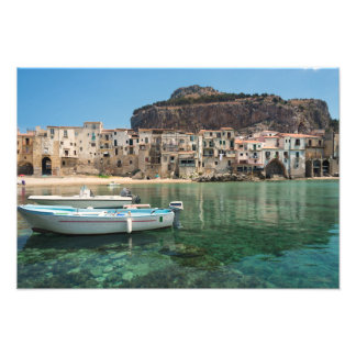 Cefalu town in Sicily Photo Print