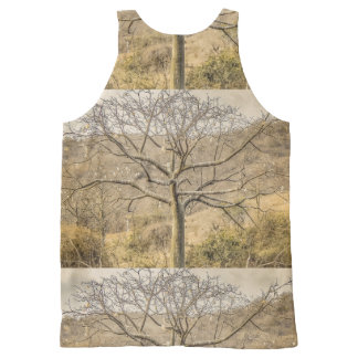 Ceiba Tree at Dry Forest Guayas District - Ecuador All-Over Print Singlet
