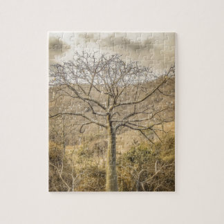 Ceiba Tree at Forest Guayas Ecuador Jigsaw Puzzle