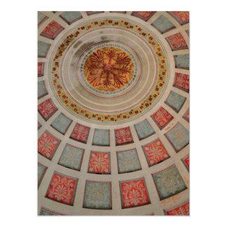 Ceiling 17 Cm X 22 Cm Invitation Card