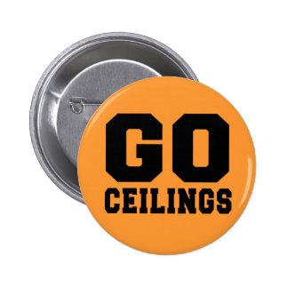 CEILING FAN (Go Ceilings) 6 Cm Round Badge