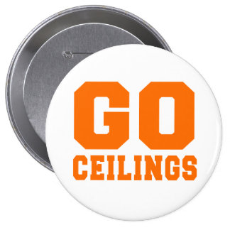 CEILING FAN Go Ceilings Costume Pinback Button