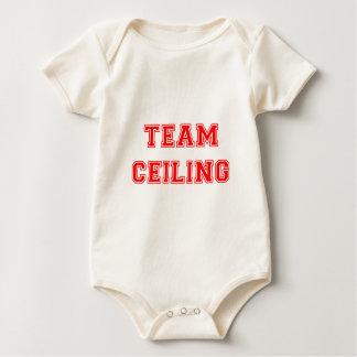 Ceiling Fan Red Baby Bodysuit