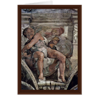 Ceiling Fresco For The Story Of Creation In The Si Card