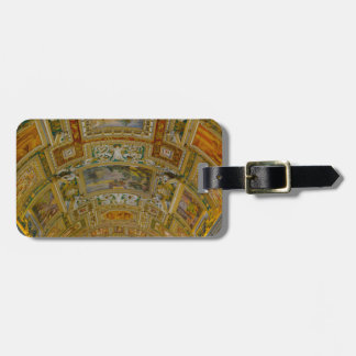 Ceiling in the Vatican Museum in Rome Italy Luggage Tag