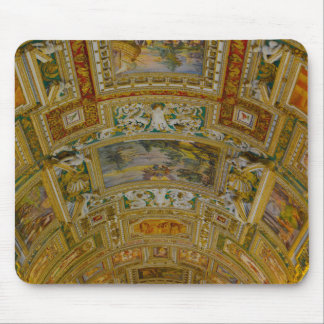 Ceiling in the Vatican Museum in Rome Italy Mouse Pad