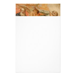 Ceiling Mural Church of San Giuseppe Italy Customised Stationery