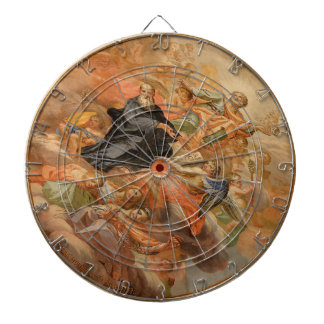 Ceiling Mural Church of San Giuseppe Italy Dart Board