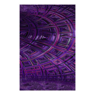 Ceiling Stare Fractal 2 Stationery