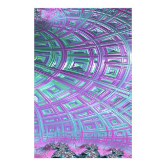 Ceiling Stare Fractal Stationery