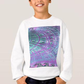 Ceiling Stare Fractal Sweatshirt