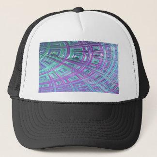 Ceiling Stare Fractal Trucker Hat