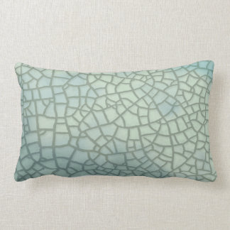 Celadon Crackle Glaze Lumbar Cushion